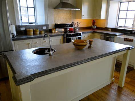 concrete countertops farmhouse kitchen