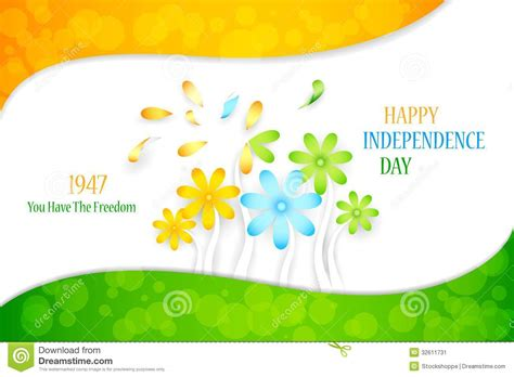 Flower On Indian Tricolor Stock Image - Image: 32611731