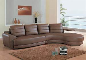 Modern leather sectional living room furniture cabinet for Sectional furniture for small rooms
