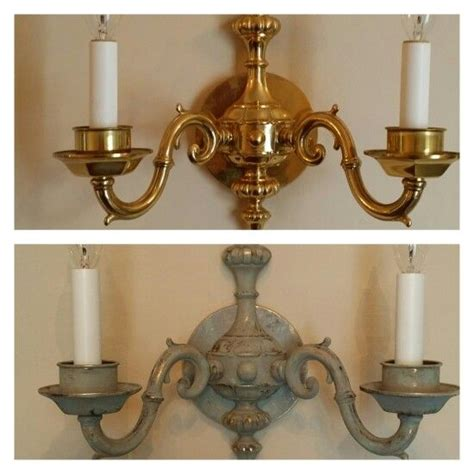 ideas  light fixture makeover  pinterest