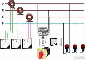 Current Transformer Physical Wiring Diagram