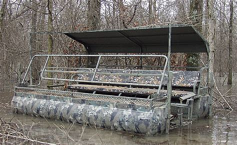 War Eagle Waterfowl Boats by Top Boat Blinds For Waterfowl Hunters