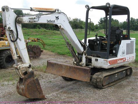 bobcat  mini excavator  pittsburg ks item  sold purple wave