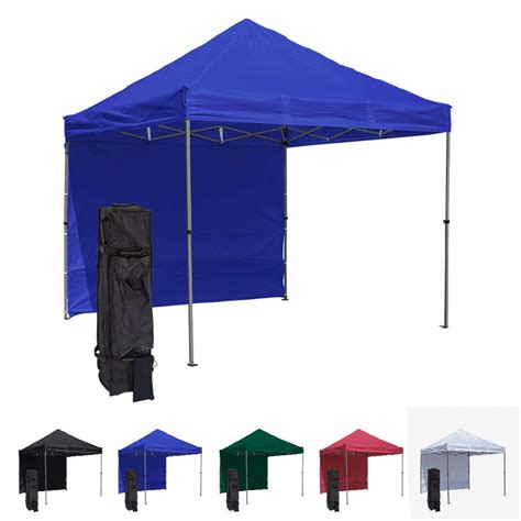 blue  pop  canopy tent  side wall compact edition durable aluminum tent frame