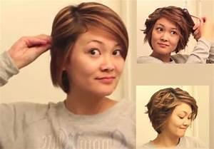 Tuto Coiffure Cheveux Court : coupe cheveux courts facile a coiffer ~ Melissatoandfro.com Idées de Décoration