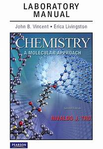 Tro  Vincent  U0026 Livingston  Laboratory Manual For Chemistry