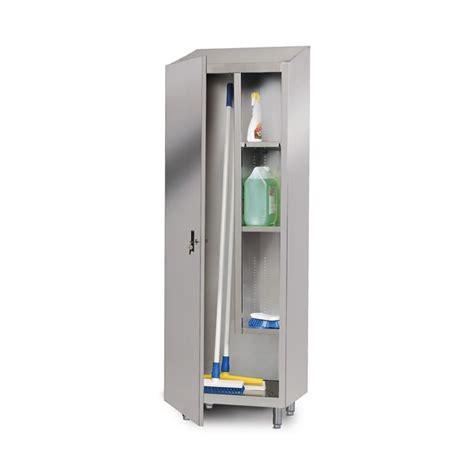 armoire à balais et produits d entretien 1 porte battante