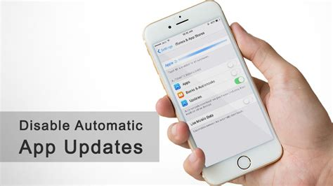 automatic app updates iphone how to disable automatic app updates on iphone and