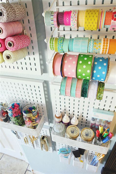 How To Organize Your Craft Supplies Eighteen25