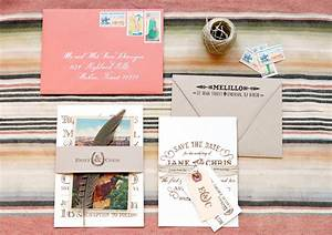 diy rubber stamp vintage western wedding save the dates With wedding invitations stamping ideas