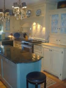 Graber Cabinets by French Country Blue And Yellow Kitchen Blue And Yellow