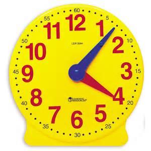 "4"" Learning Clock"