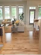Light Wood Floor Living Room by