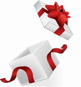 Open gift box illustration - Vector download