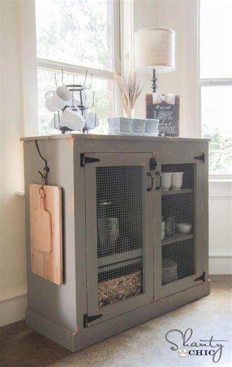 farmhouse kitchen cabinets diy diy farmhouse coffee cabinet shanty 2 chic