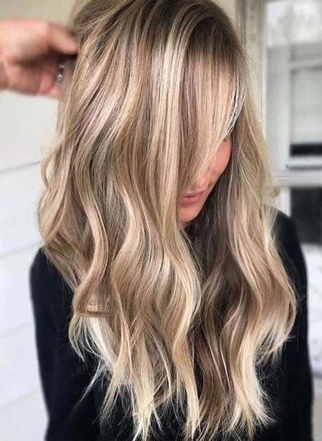 hottest hair color trends   blonde hair styles