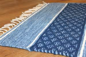 Red And Beige Kitchen by Rag Rugs Visby Blue Rag Rugs