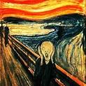 """""""O Grito"""", de Edvard Munch, pintado em 1895, é o quadro ..."""