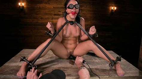Kristina Rose Gagged And Whipped By Her Master Of