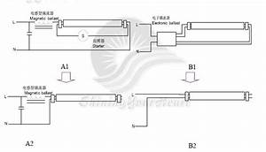 Wiring Diagram For T8 Led Tube Light