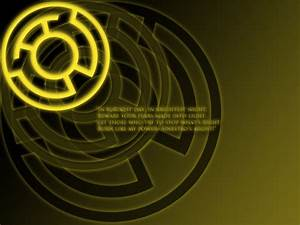 Yellow Lantern Oath Wallpaper by stampedeofxflames on ...