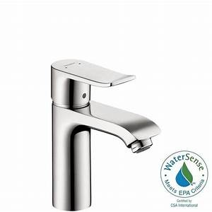 Hans Grohe Metris : hansgrohe metris single hole 1 handle low arc bathroom faucet in chrome 31080001 the home depot ~ Orissabook.com Haus und Dekorationen