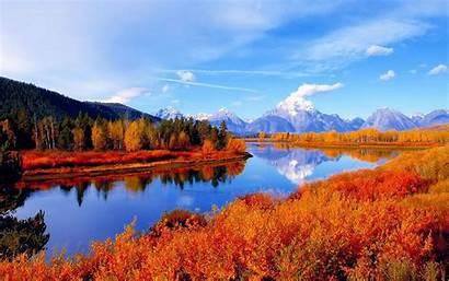 Desktop Autumn Autumnal Fall Scenes Scene Landscape
