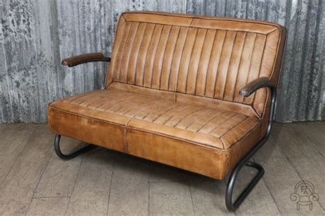 This Vintage Style Leather Sofa Comes From Our Vast