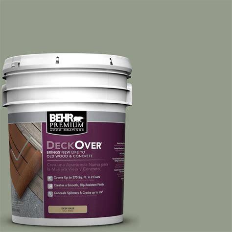 Behr Deck Concrete by Behr Premium Deckover 5 Gal Sc 143 Harbor Gray Wood And