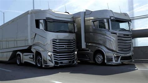 build a volvo truck scania and volvo should hire the guy who designed these