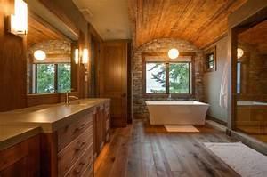 Badezimmermöbel Im Landhausstil : badezimmerm bel holz rustikal ~ Michelbontemps.com Haus und Dekorationen