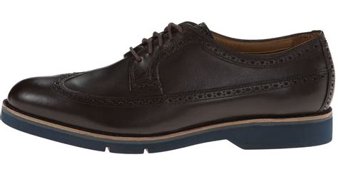 Cole Haan Great Jones Grand.os Leather Wing-tip