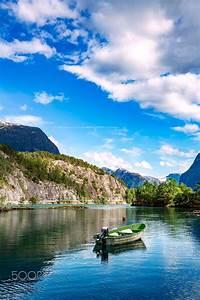 Lovatnet, Lake, Beautiful, Nature, Norway