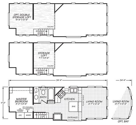 park model tiny house  variety  floor plans tiny
