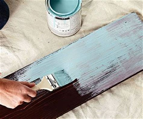 how to distress wood how to paint distressed wood furniture