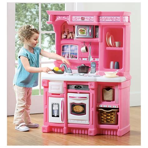 Kitchen Play Set by Step 2 174 Serve Simmer Kitchen Playset 231328 Toys At