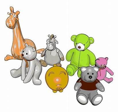 Stuffed Animals Toy Various Clipart Animal Verschiedene