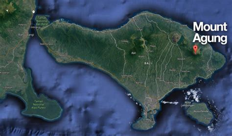 volcano eruption   closure  airport  bali