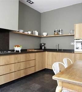 cuisine avec carrelage gris anthracite idees de With superb couleur gris clair peinture 5 cuisine gris anthracite 56 idees pour une cuisine chic