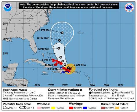 hurricane maria   update   national