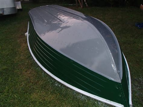 How To Repair Aluminum Boat Paint by 18ft Aluminum Foam Drainage Deck Paint Rebuild Page 1