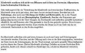Maulwurf Im Garten Loswerden : maulwurf bek mpfen vertreiben loswerden umsiedeln t ten ~ Frokenaadalensverden.com Haus und Dekorationen