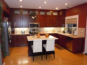 design your own kitchen home design ideas With kitchen colors with white cabinets with design your own wall art online