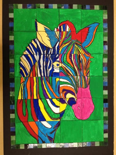 animal art projects ideas  pinterest rainbow