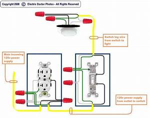 Outlet To Switch To Light Wiring Diagram Deltagenerali