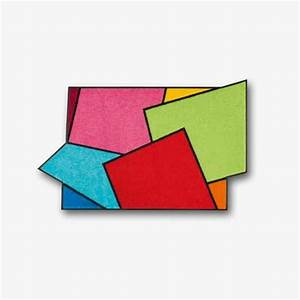 Tapis d39entree crazy cube un tapis d39entree aux couleurs for Tapis d entrée avec canapé livraison gratuite a domicile