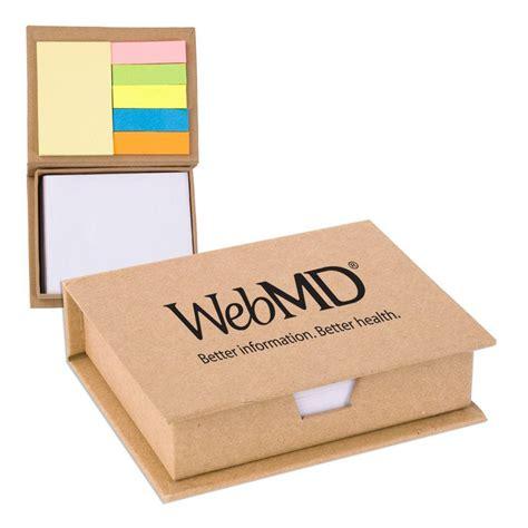 ecorecycled sticky note memo case positive promotions