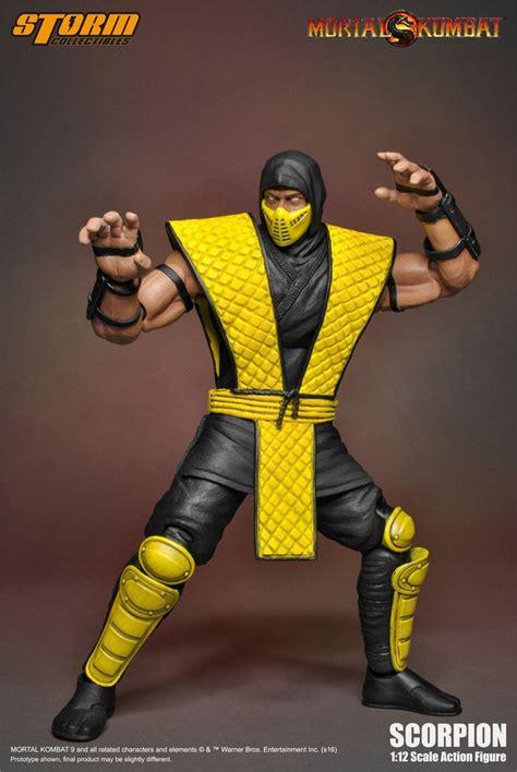 Scorpion Mortal Kombat Klassic Storm Collectibles
