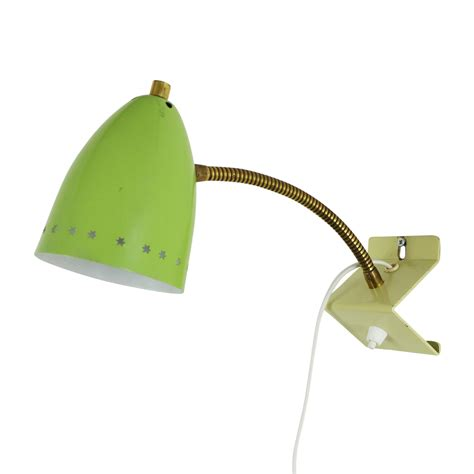 lime green sterrenserie wall light by h busquet for