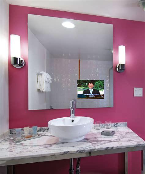 loft bathroom mirror tv electric mirror